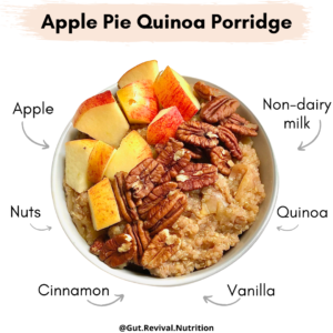 Fall-Inspired Quinoa Breakfast Porridge: 2 Ways!
